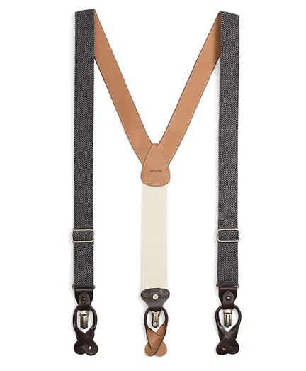 Tweed Suspenders