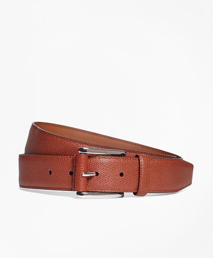 Pebble Leather Belt