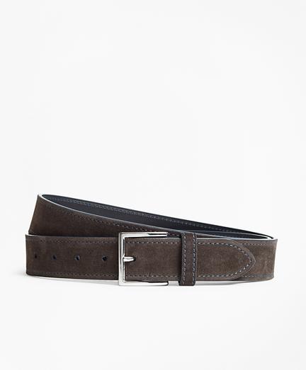 Suede Stitch Belt