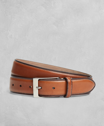 Golden Fleece® Side Stitch Leather Belt
