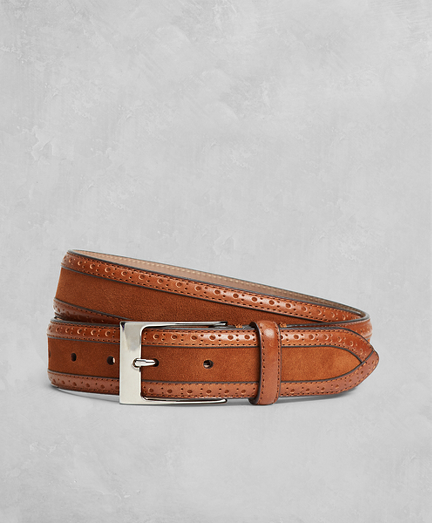 Golden Fleece® Perforated Suede Leather Belt