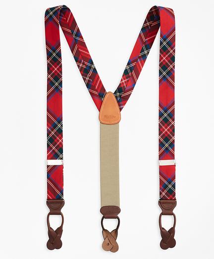Royal Stewart Tartan Suspenders