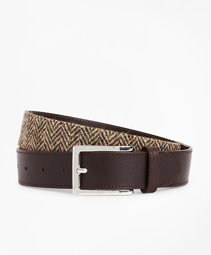 Harris Tweed Herringbone Belt