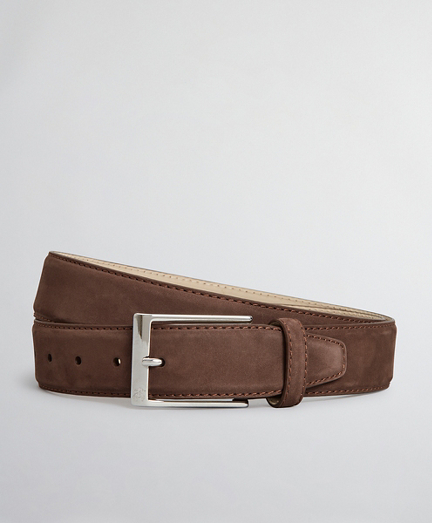 The Brooks Brothers Voyager Belt - Nubuck