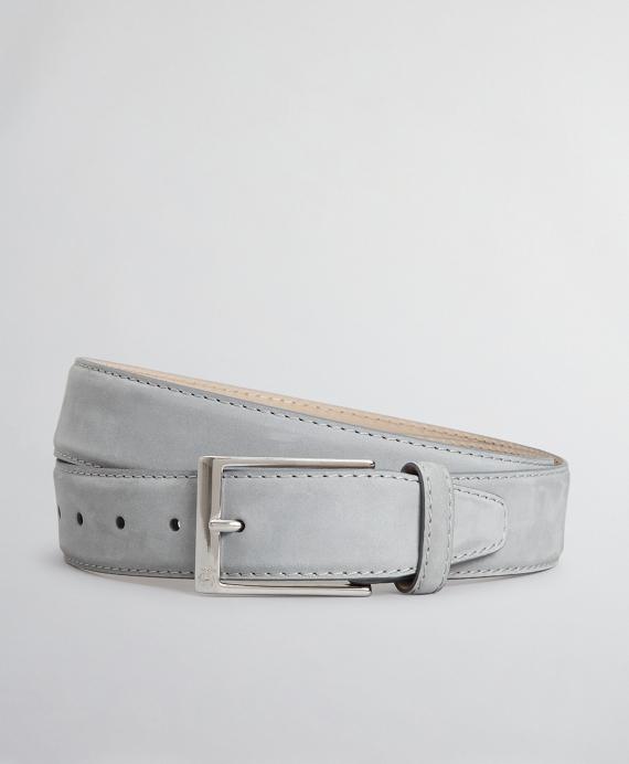 The Brooks Brothers Voyager Belt - Nubuck Grey