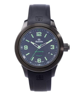 Reconvilier Hercules Golf Master with Black Dial and Green Numerals