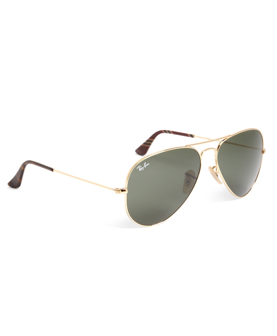 298b347fe82 Ray-Ban Aviator Sunglasses with Burgundy BB No.1 Rep Stripe ...