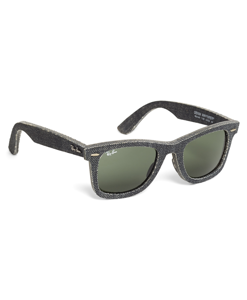 Ray-Ban Wayfarer Black Denim Sunglasses | Brooks Brothers