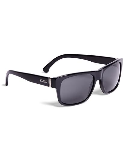 Brooks Brothers Plastic Square Framed Sunglasses