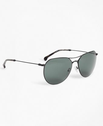 Black Navigator Sunglasses
