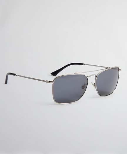 Pillow Sunglasses with Shiny Frame