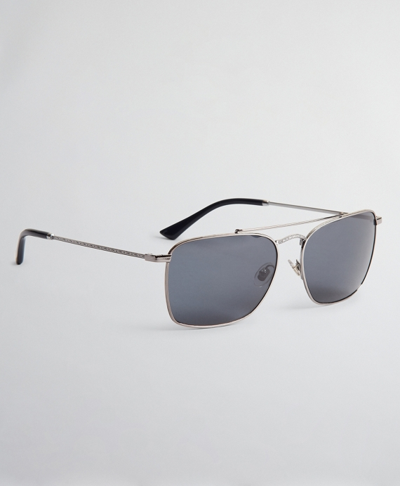 Pillow Sunglasses with Shiny Frame Medium Grey