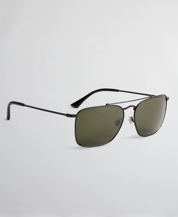 Pillow Sunglasses with Matte Frame Black
