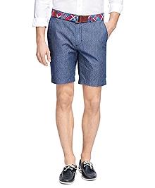 Printed Dot Bermuda Shorts