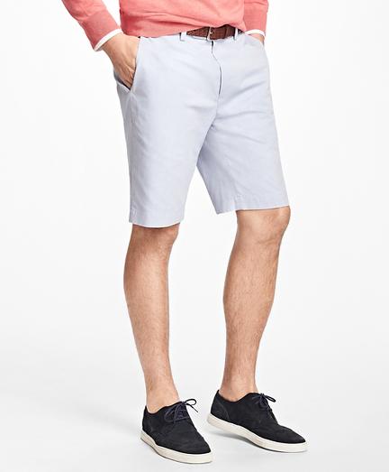 Non-Iron Supima® Cotton Oxford Bermuda Shorts