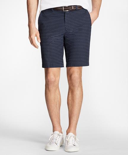 Foulard Print Bermuda Shorts