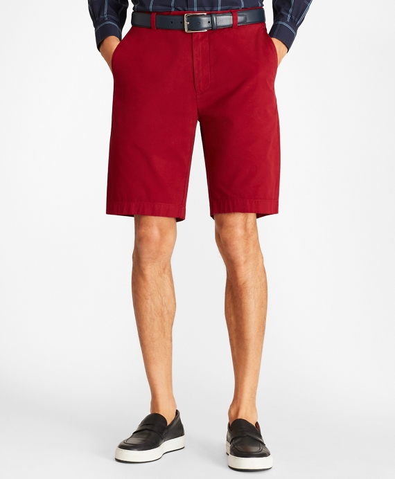 "Garment-Dyed 10"" Bermuda Shorts"