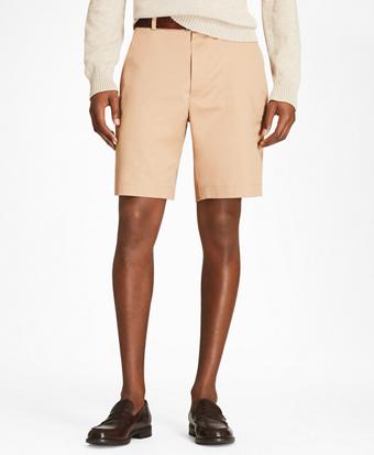 Flat Front Stretch Advantage Chino® Shorts