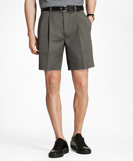 Pleat Front Stretch Advantage Chino® Shorts