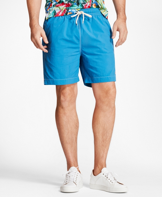 "Montauk 6"" Swim Trunks Blue"