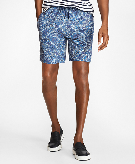 "Montauk 6"" Paisley Printed Swim Trunks"
