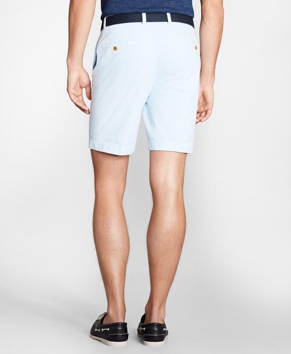 Stripe Seersucker Shorts Brooks Brothers