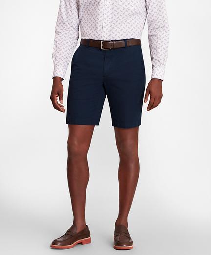 Stripe Seersucker Shorts