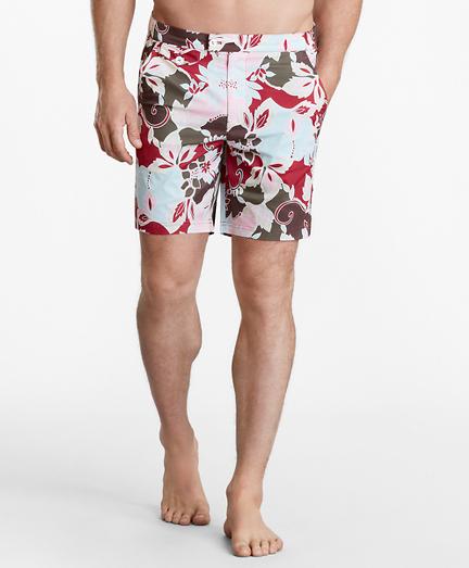 "Newport 7"" Floral Swim Trunks"