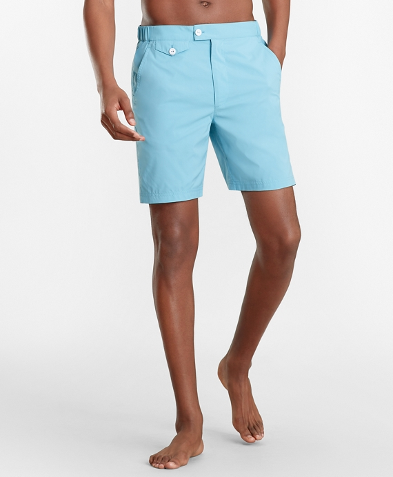 "Newport 7"" Swim Trunks by Brooks Brothers"