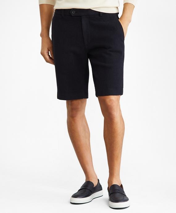 """10"""" Indigo Dobby Shorts Navy"""