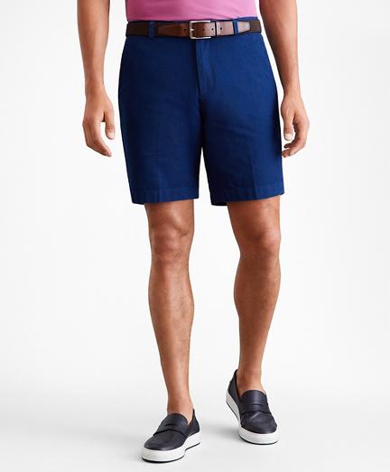 "10"" Indigo Broken Twiil Shorts"