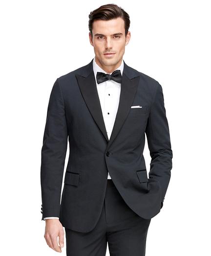 Regent Fit Seersucker Tuxedo