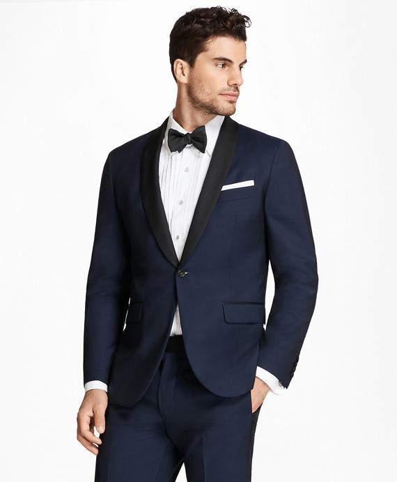 Milano Fit Shawl Collar Navy Tuxedo Navy