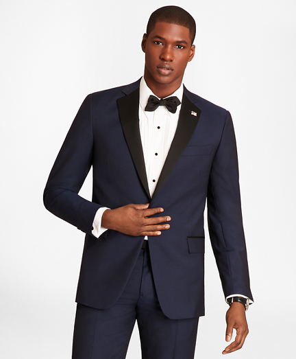 Regent Fit One-Button Navy Tuxedo