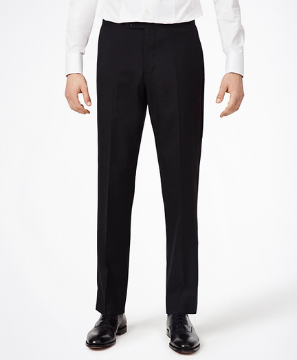 BrooksGate™ Regent-Fit Wool Tuxedo Pants
