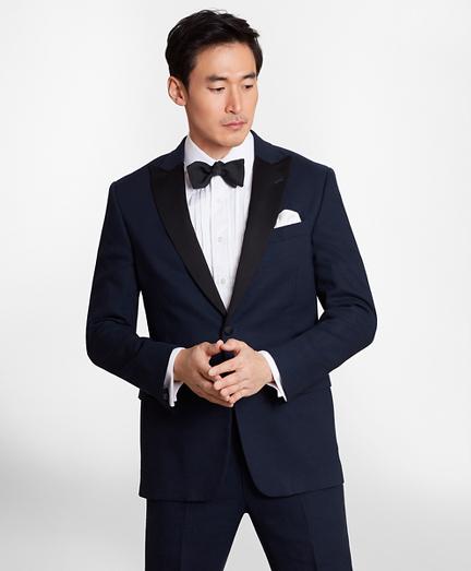 Regent Fit Linen Tuxedo