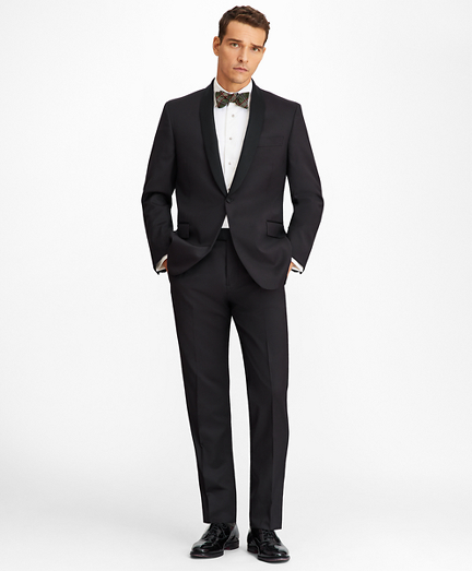 Regent Fit One-Button Shawl Collar 1818 Tuxedo