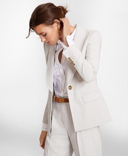 Petite Shawl-Collar Jacket