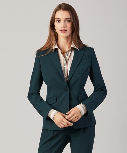 Petite Stretch Wool Jacket