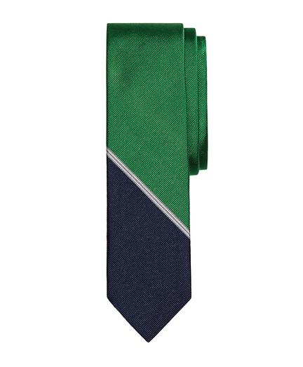 Mini BB#1 Color-Block Slim Tie