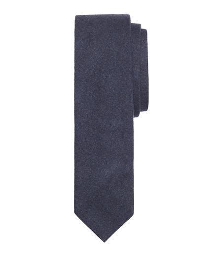 Brushed Flannel Slim Tie