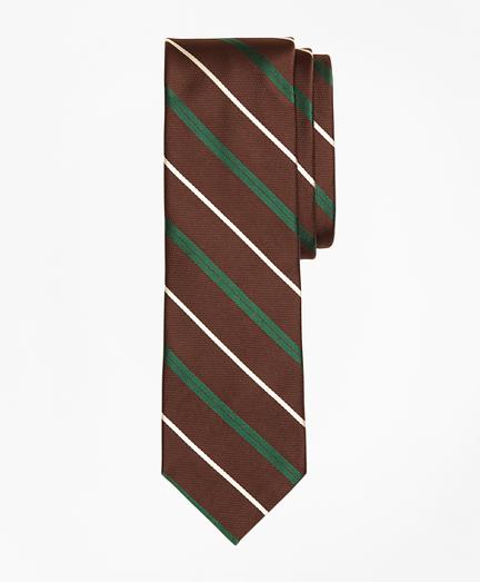 Silk Rep Stripe Tie