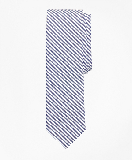 Striped Seersucker Tie