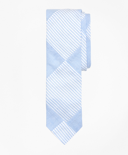 Cotton Patchwork Tie