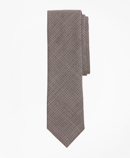 Multi-Check Wool Tie