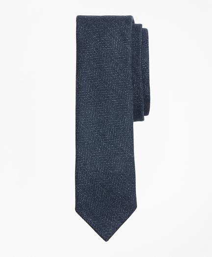 Striped Herringbone Tie