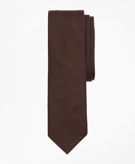 Textured Wool-Blend Tie