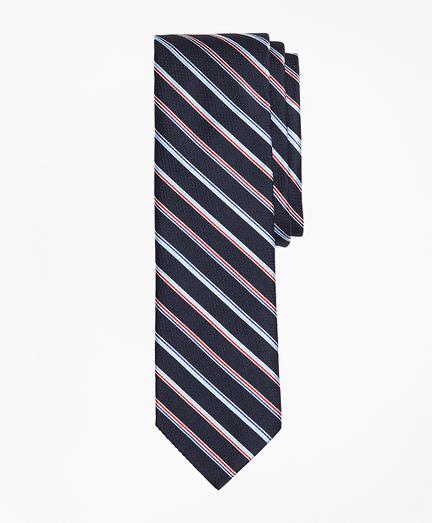 Alternating Multi-Stripe Silk Tie