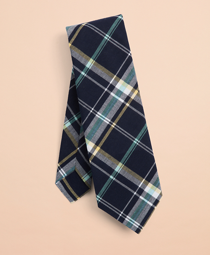 Madras Cotton Tie