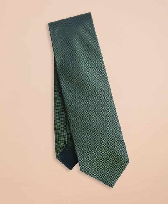 Solid Jaspe Silk Tie Green